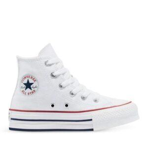 Converse Kids Chuck Taylor All Star EVA Lift White