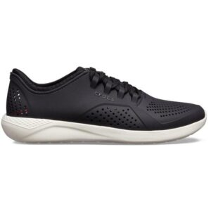Crocs LiteRide Pacer - Mens Sneakers - Black/White