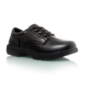 Diadora Study Youth Lace - Kids Leather Shoes - Black