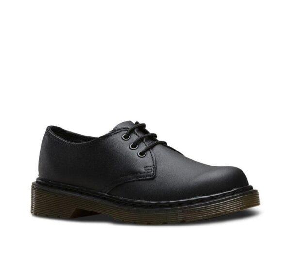 Dr Martens Junior 1461 Black Softy T