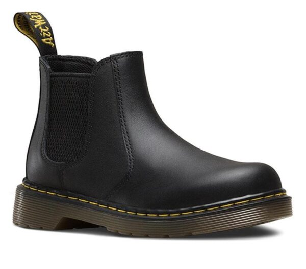 Dr Martens Juniors 2976 Chelsea Boot Black Softy T