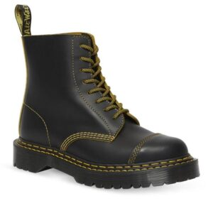 Dr Martens 1460 Double Stitch Pascal Black+Yellow