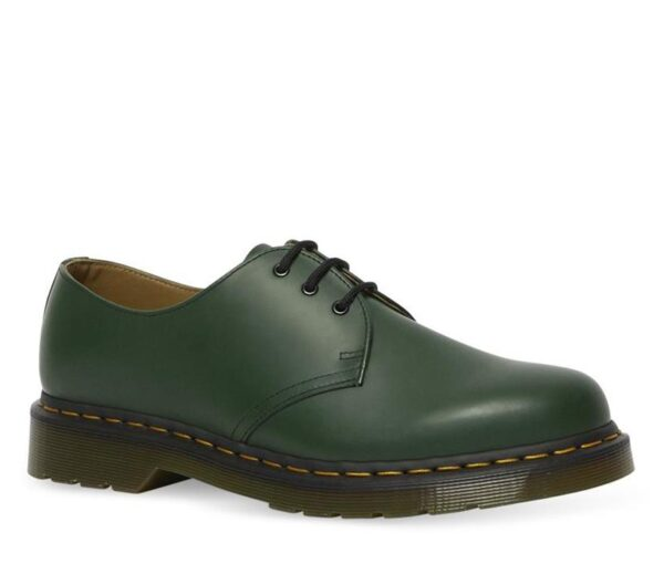 Dr Martens 1461 Smooth Shoes Green