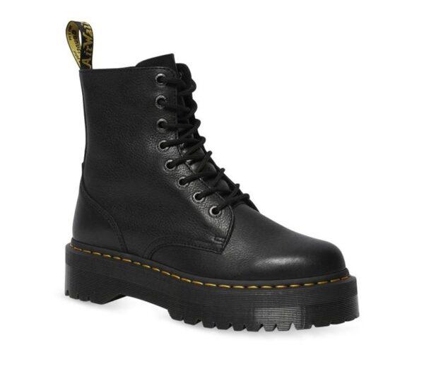 Dr Martens Jadon Pisa Leather Black