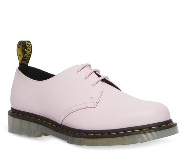 Dr Martens 1461 Iced Smooth Shoe Pale Pink Smooth