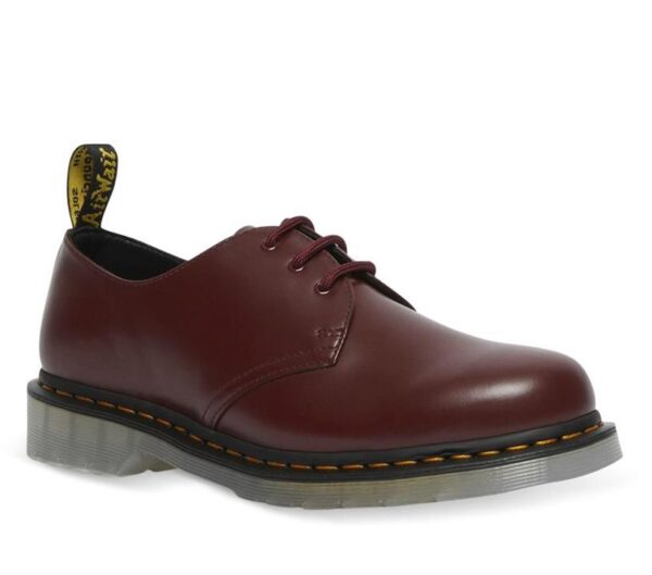 Dr Martens 1461 Iced Smooth Shoe Cherry Red Smooth