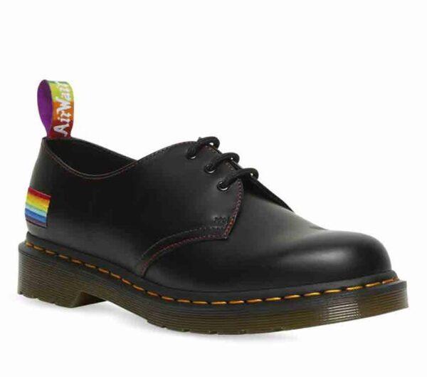 Dr Martens 1461 Pride Smooth Black Smooth