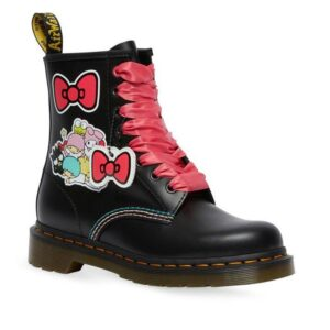Dr Martens 1460 Hello Kitty and Friends Black Smooth