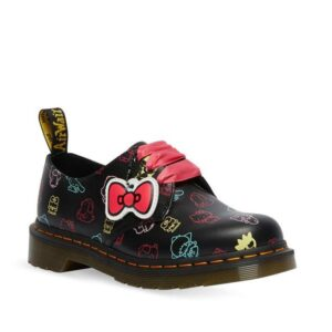 Dr Martens 1461 Hello Kitty and Friends Black Backhand