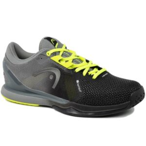 Head Sprint SF All Court Mens Tennis Shoes - Black/Yellow