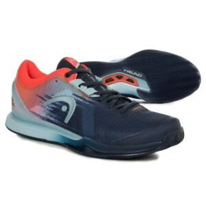 Head Sprint Pro 3.0 Mens Tennis Shoes - Dress Blue/Neon Red