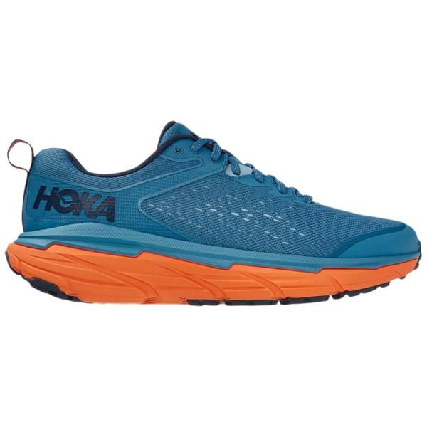 Hoka One One Challenger ATR 6 - Mens Trail Running Shoes - Provincial Blue/Carrot