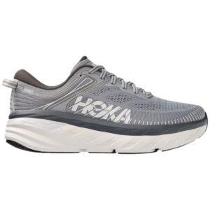 Hoka One One Bondi 7 - Mens Running Shoes - Wild Dove/Dark Shadow