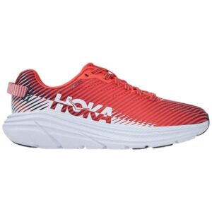 Hoka One One Rincon 2 - Womens Running Shoes - Hot Coral/White