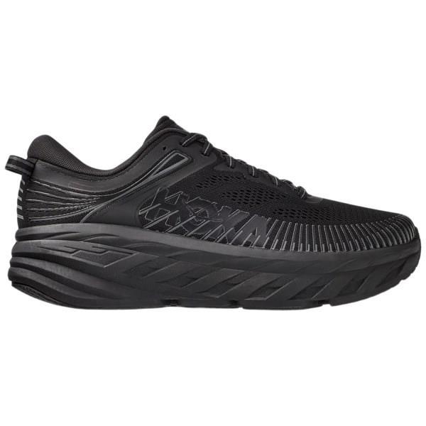 Hoka One One Bondi 7 - Mens Running Shoes - Triple Black