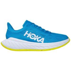 Hoka One One Carbon X 2 - Mens Running Shoes - Diva Blue/Citrus
