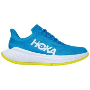Hoka One One Carbon X 2 - Womens Running Shoes - Diva Blue/Citrus