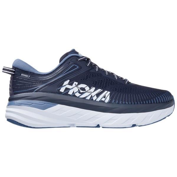 Hoka One One Bondi 7 - Mens Running Shoes - Ombre Blue/Provincial Blue