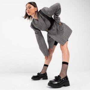 ITNO Womens Grunt Loafer Black