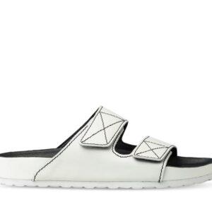 ITNO Womens Toni Sandal White Leather