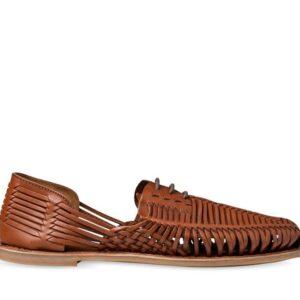 ITNO Mens Flynn Huarache Tan Leather