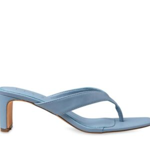 ITNO Womens Naomi Heel Ice Blue Leather