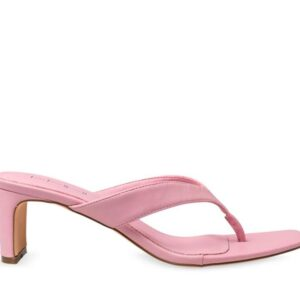 ITNO Womens Naomi Heel Baby Pink Leather