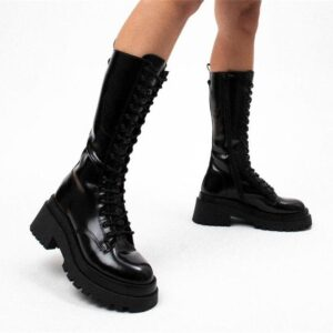 ITNO Womens Twister Boot Black