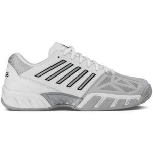 K-Swiss Bigshot Light 3 Mens Tennis Shoes - White/Silver