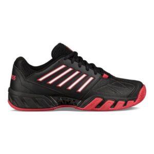 K-Swiss Bigshot Light 3 Mens Tennis Shoes - Black/Lollipop/White