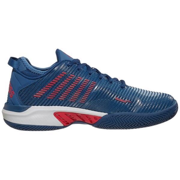 K-Swiss Hypercourt Supreme HB Mens Tennis Shoes - Blue/Red