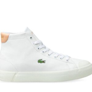 Lacoste Womens Gripshot Mid Wht