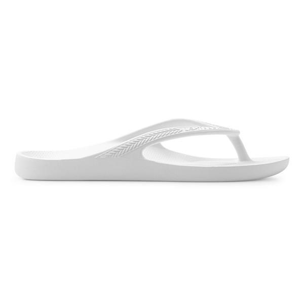Lightfeet Revive Unisex Recovery Thongs - White
