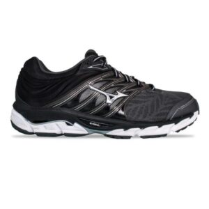 Mizuno Wave Paradox 5 - Mens Running Shoes - Dark Shadow/Silver/Fiery Red