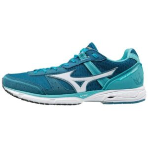 Mizuno Wave Emperor 3 - Womens Running Shoes - Blue Curacao/Blue Sapphire