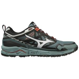 Mizuno Wave Daichi 4 - Womens Trail Running Shoes - Stormy Weather/Hot Coral