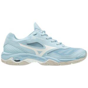Mizuno Wave Phantom 2 - Womens Netball Shoes - Cool Blue/White