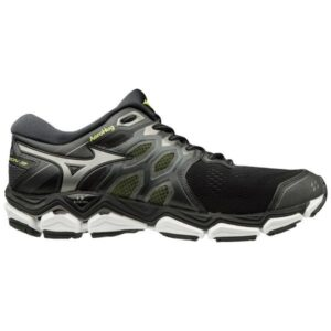 Mizuno Wave Horizon 3 - Mens Running Shoes - Black/Safety Yellow