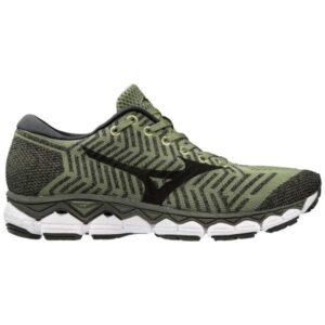 Mizuno WaveKnit Sky S1 - Mens Running Shoes - Olivine/Black