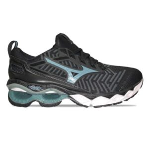 Mizuno WaveKnit Creation 20 - Mens Running Shoes - Black/Stormy Weather