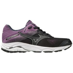 Mizuno Wave Inspire 15 - Womens Running Shoes - Blue Graphite/Chinese Violet