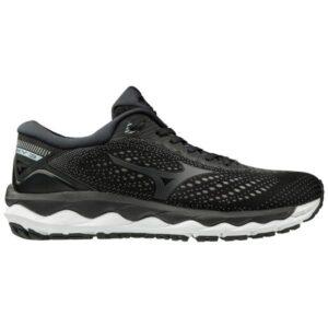 Mizuno Wave Sky 3 - Womens Running Shoes - Black/Dark Shadow/Illusion Blue