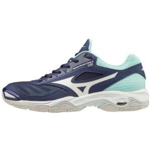 Mizuno Wave Phantom 2 - Womens Netball Shoes - Austral Aura/White/Blue Light
