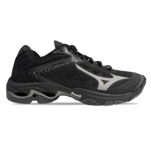 Mizuno Wave Lightning Z5 - Mens Indoor Court Shoes - Black/Metallic Shadow/Dark Shadow