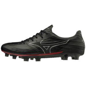 Mizuno Rebula 3 Elite - Mens Football Boots - Black/Silver