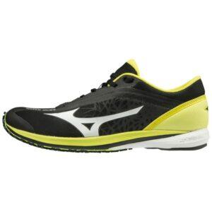 Mizuno Wave Duel - Mens Running Shoes - Black/Bolt
