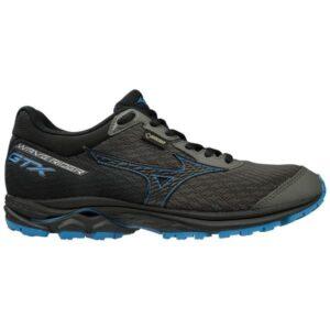 Mizuno Wave Rider 22 GTX - Womens Trail Running Shoes - Gunmetal/Black