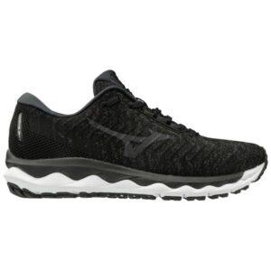 Mizuno Wave Sky Waveknit 3 - Womens Running Shoes - Double Black