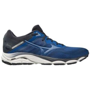 Mizuno Wave Inspire 16 - Mens Running Shoes - True Blue/Navy Blue