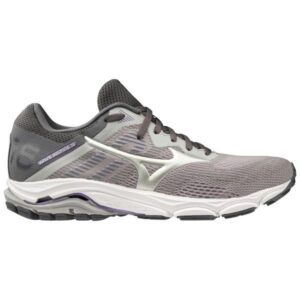 Mizuno Wave Inspire 16 - Womens Running Shoes - Vapor Blue/Silver/Chalk Violet